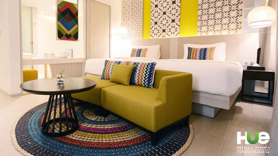 Accommodation at Hue Hotels & Resorts Puerto Princesa Managed by Hill