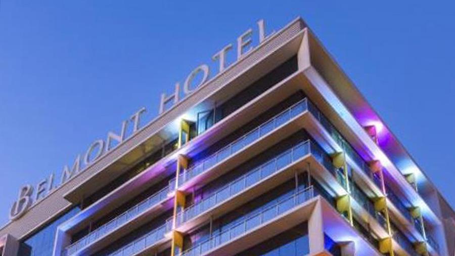 Belmont Hotel - Manila - Front View