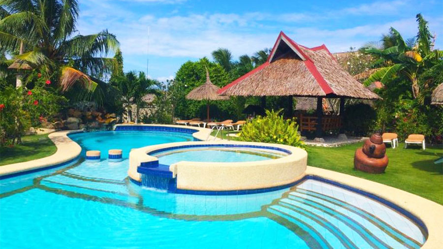 Dolphin House Resort SPA Diving Moalboal Cebu- Swimming Pool