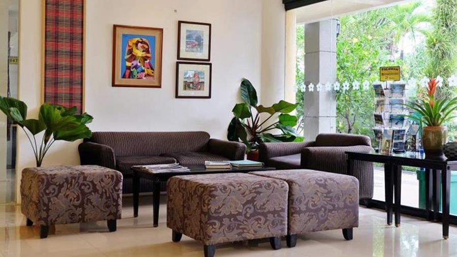 Hotel Fleuris - Palawan - Lobby