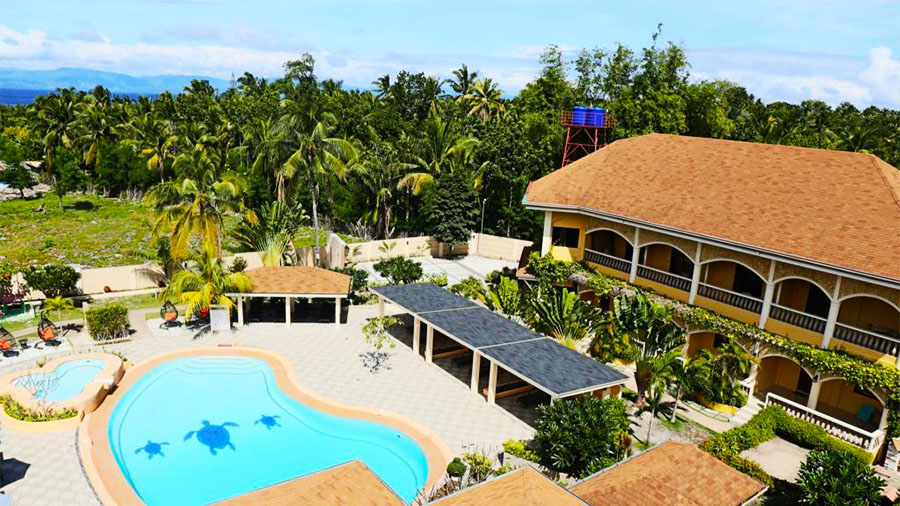 Turtle Bay Dive Resort Moalboal Cebu- top view
