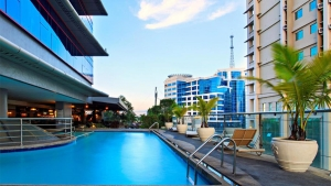 Cebu Parklane International Hotel- Swimming pool view