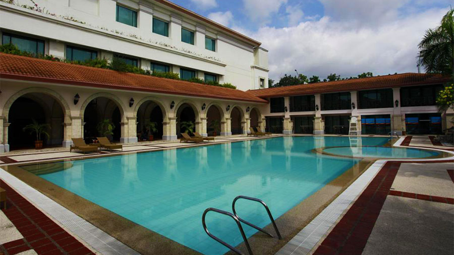 Waterfront Airport Hotel and Casino Mactan- Cebu Airport- Hotel Swimming Pool