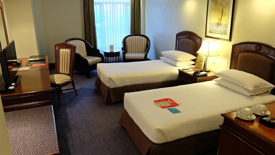 Waterfront Cebu City Hotel and Casino- Accommodation Superior room