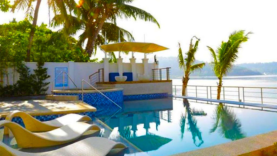 Icove beach hotel subic bay subic bay luzon philippine diver for Subic resorts with swimming pool