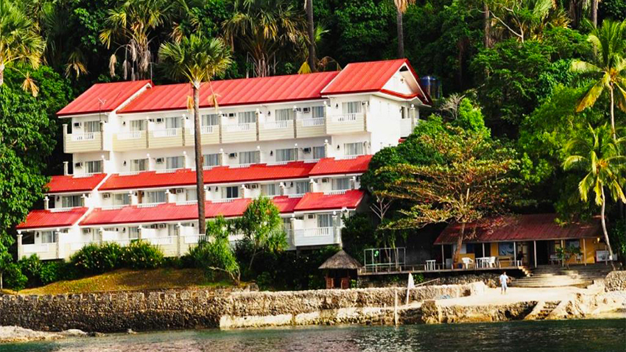 Eagle Point Beach and Dive Resort- Barangas- building