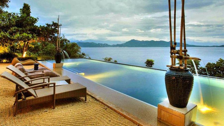Vivere Azure Resort- Batangas- Swimming nice beach front view
