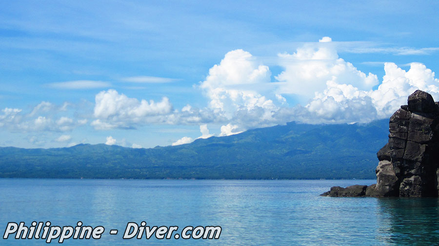 Negros Oriental View from Apo Island