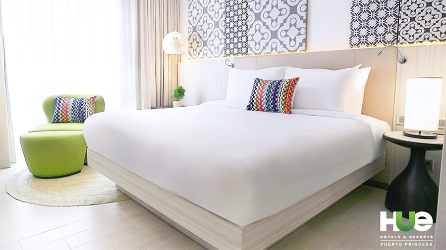 Hue Hotels & Resorts Puerto Princesa Managed by Hill - Bed