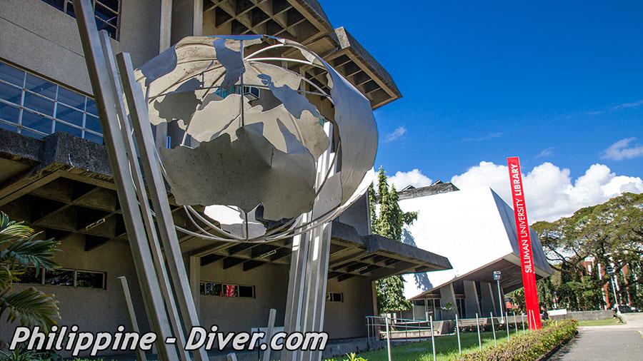 Silliman Library - Dumaguete City