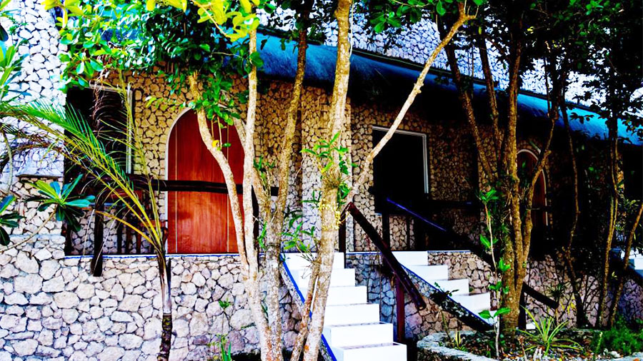 The Blue Orchid Resort Moalboal Cebu- Accomodation Bungalow room