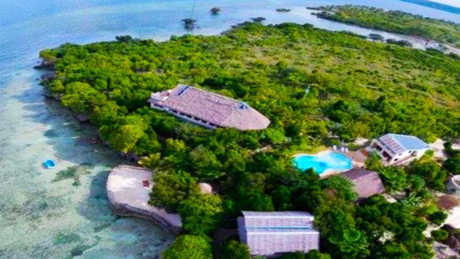 The Blue Orchid Resort Moalboal Cebu- Ariel View