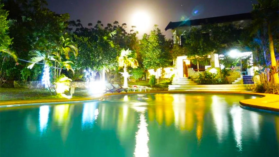 The Blue Orchid Resort Moalboal Cebu- Swimming Pool