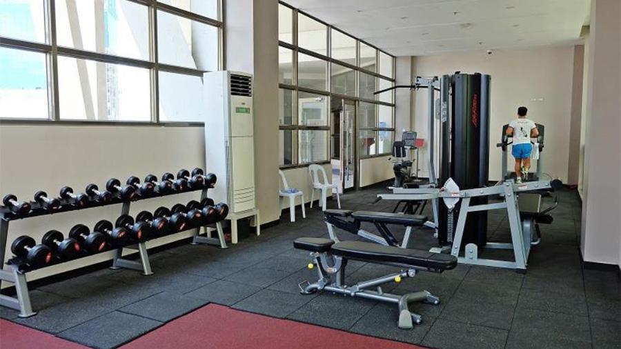 Mandarin Plaza Hotel- Cebu- Fitness Gym
