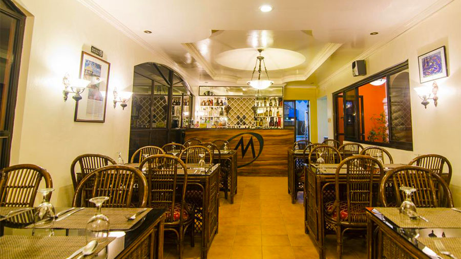 Marco Vincent Dive Resort- Puerto Galera- The Restaurant