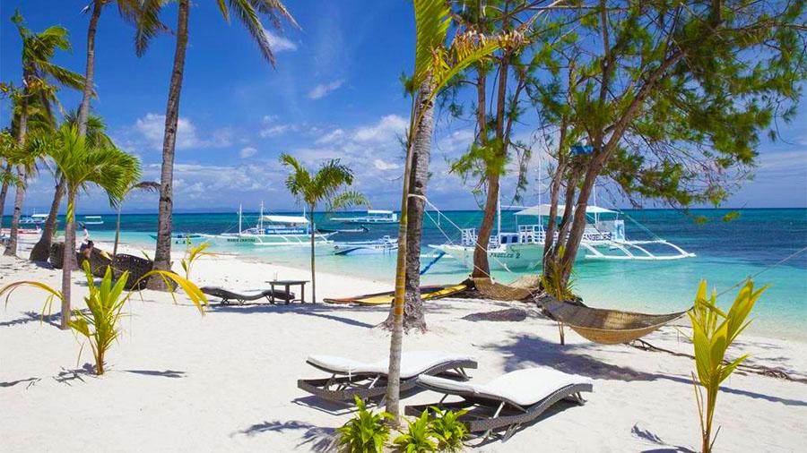 Ocean Vida Resort- Beach Front View- Malapascua Cebu