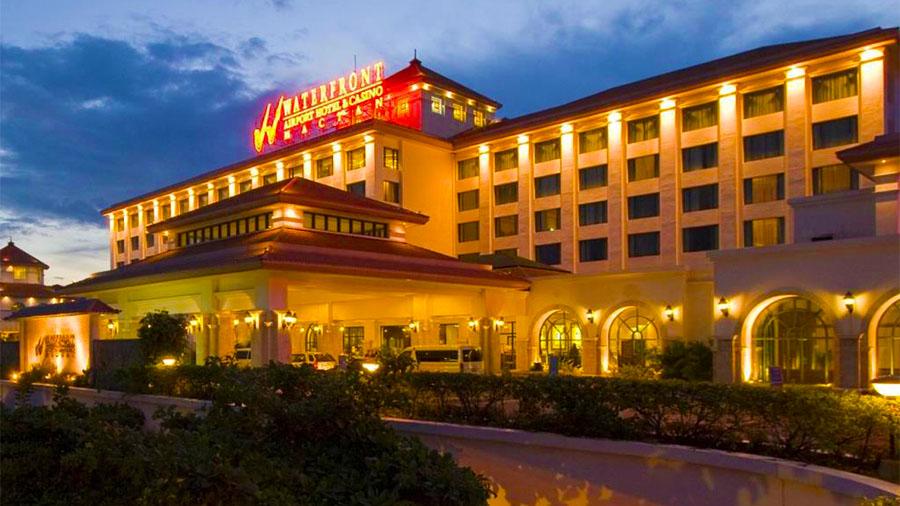 Waterfront Airport Hotel and Casino Mactan- Cebu Airport- Hotel Building