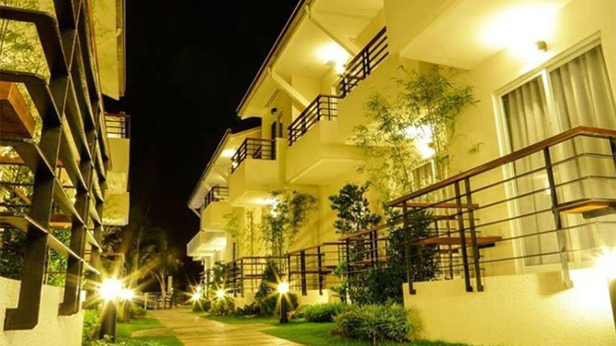 iCove Beach Hotel-Subic Bay- Accommodation room View at Night