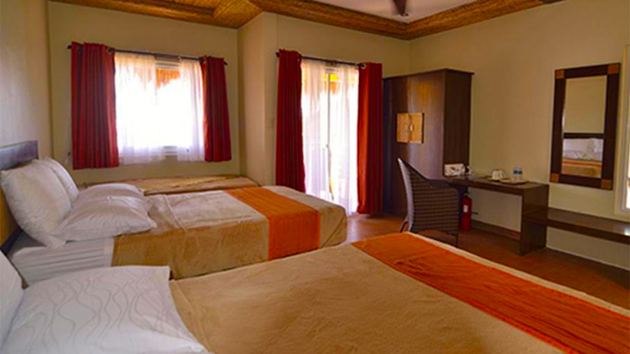 Buceo Anilao Beach and Dive Resort- accommodation guest room