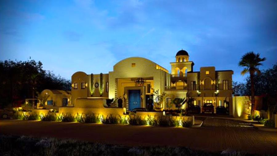 Camp Netanya Resort and Spa-Batangas- Hotel Building nigth time view