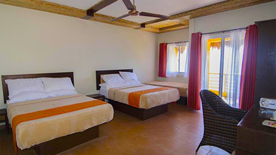 Eagle Point Beach and Dive Resort- Batangas-accommodation deluxe sea view room