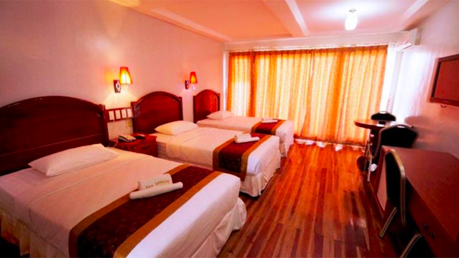 Sea Spring Resort- Batangas- accommodation family room