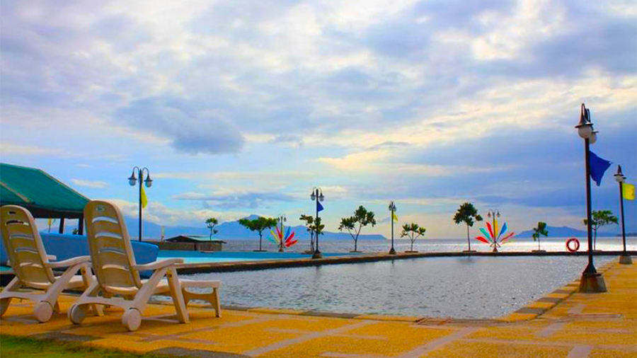 Sea Spring Resort- Batangas- swimming pool view